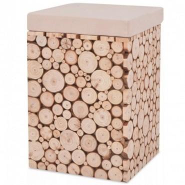 Tabouret en bois véritable 30x30x40cm