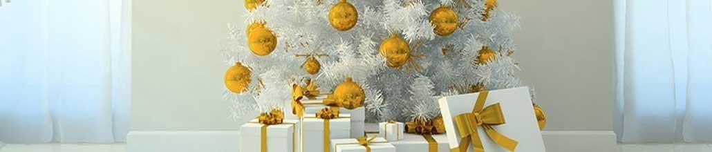 Noël Gold & White