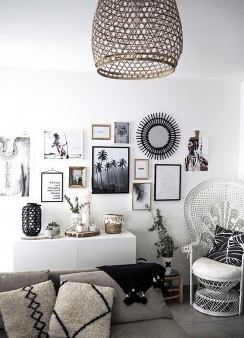 decoration boheme salon