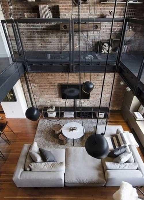 salon decoration industrielle