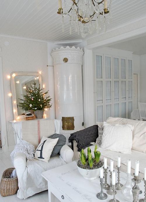 salon noel white forest