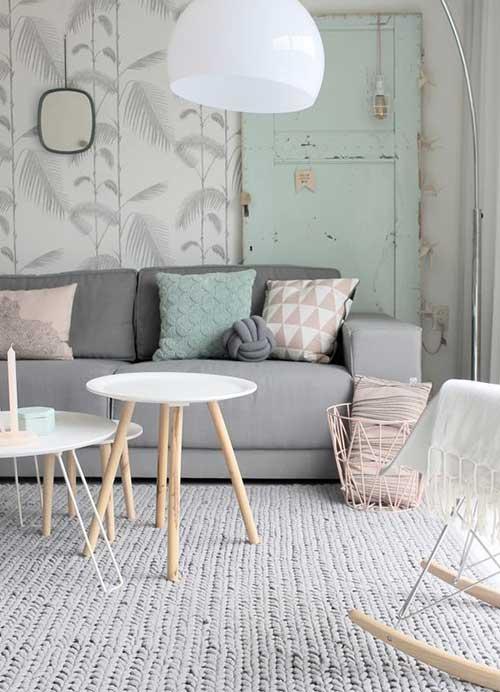 salon decoration scandinave